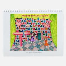 Hikaru's World Calendar Alice In Wonderland Ballet