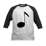 Quaver Symbol Music Note Kids Baseball Jersey