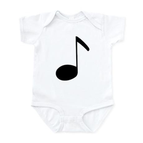 Quaver Symbol Music Note Infant Creeper