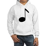 Quaver Symbol Music Note Hooded Sweatshirt