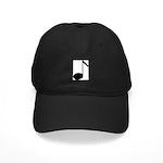Quaver Symbol Music Note Black Cap
