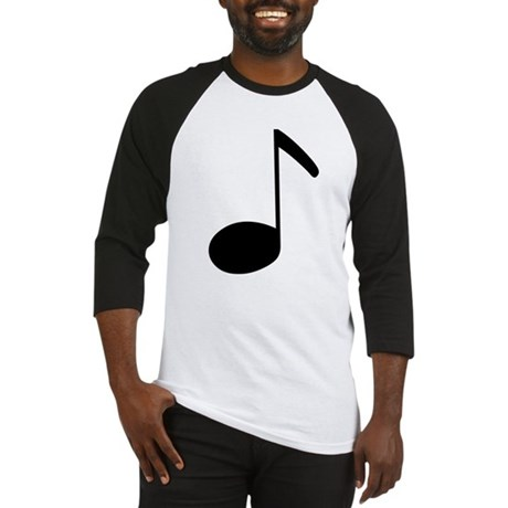 Quaver Symbol Music Note Baseball Jersey