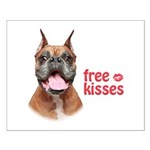 Free Kisses Small Poster