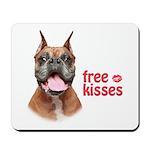 Free Kisses Mousepad