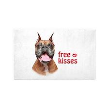 Free Kisses 3'x5' Area Rug