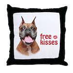 Free Kisses Throw Pillow