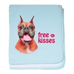 Free Kisses baby blanket