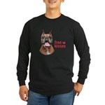 Free Kisses Long Sleeve Dark T-Shirt