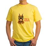 Free Kisses Yellow T-Shirt