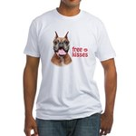 Free Kisses Fitted T-Shirt