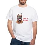 Free Kisses White T-Shirt