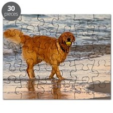 Golden Retriever 8 Puzzle