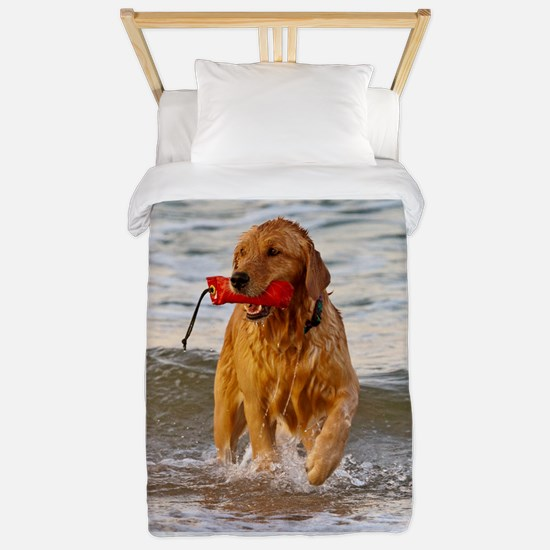 Golden Retriever 9 Twin Duvet