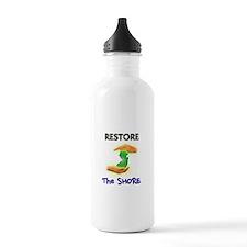 Hurricane Sandy Restore Jersey T-Shirt Water Bottle