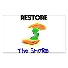 Hurricane Sandy Restore Jersey T-Shirt Decal