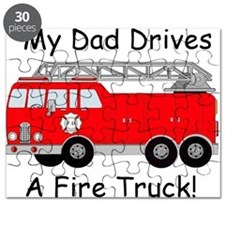 My Dad Drives A Fire Truck Puzzle