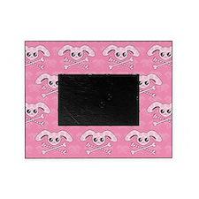 Kawaii Pink Bunny Skull Picture Frame