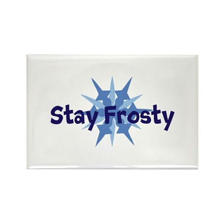 Stay Frosty Rectangle Magnet