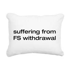 fs withdrawal.png Rectangular Canvas Pillow