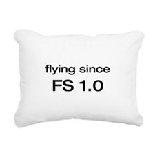 flying since1-0.png Rectangular Canvas Pillow