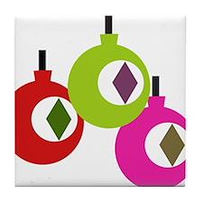 mod ornaments Tile Coaster