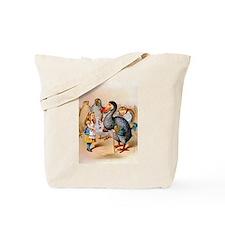 Alice and the Dodo Bird Tote Bag