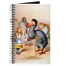 Alice and the Dodo Bird Journal