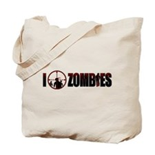 I Kill Zombies Tote Bag