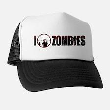 I Kill Zombies Trucker Hat