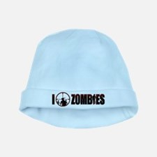 I Kill Zombies baby hat
