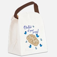 Challah at your peeps! Canvas Lunch Bag