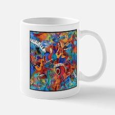 Jazz Musicians Blues Band Mug