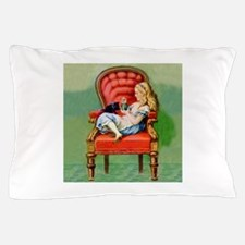 Alice and Her Cat, Dinah Pillow Case