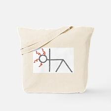 triangle yoga pose - ArtinJoy Tote Bag