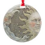 sunmoonplaque.png Round Ornament