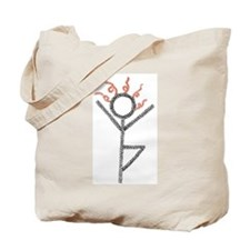 tree yoga pose - ArtinJoy Tote Bag