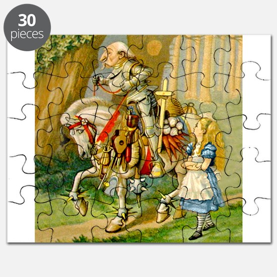 Alice Meets The White Knight Puzzle