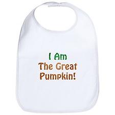 I Am The Great Pumpkin! Bib
