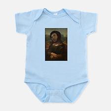 restored Mona Lisa Infant Bodysuit