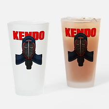 Kendo Men1 Drinking Glass