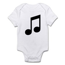 Double Eighth Note Infant Creeper