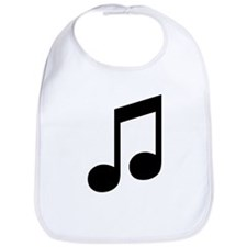 Double Eighth Note Bib