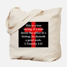 1 Timothy 1:11 Tote Bag