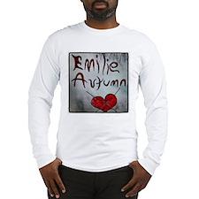 E.A logo Long Sleeve T-Shirt