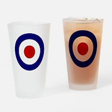 Target mark Drinking Glass