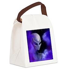 Alien Star ~ Canvas Lunch Bag