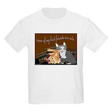 Cat Friends Kids T-Shirt