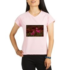 Pink Calopogon Performance Dry T-Shirt