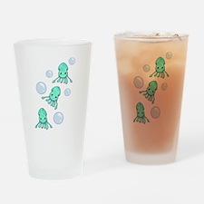 Squid Trio Drinking Glass