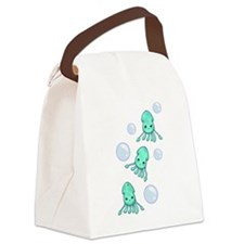 Squid Trio Canvas Lunch Bag